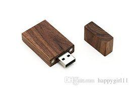 2019 одиночные палочки оптовая цена новое прибытие 8GB USB 2.0 деревянный Ореховый диск - один пункт - Grove Stick Design U04 дешево одиночные палочки
