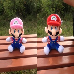 mushroom anime Coupons - 20 CM Super Mario Super Mario Mushroom Plush Toy Doll Doll New Creative Features Plush toys