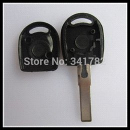 Wholesale car keys blanks - 20pcs lot for blank transponder key shell for Vw, key case for vw (can install chip) with the best price 0301247 car