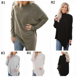 Wholesale Knee Length Coat Women - Plus Size Sweater Women Knitted Blouse Winter Long Sleeve Pullover Knitwear Tops Sweatshirt Coat Loose Casual Jumpers Clothing YYA1053