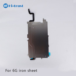 Wholesale Iron Replacement - Grade AAA+++ Quality Competitive Price Iron Sheet For iPhone 6 for Phone Parts Replacement With Free Shipping