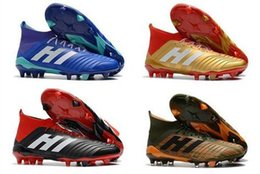 0fb0f4aa1656f New 2019 World cup Top Quality Original Falcon Predator 18.1 18+ soccer  shoes FG Football Boots soccer cleats Sneakers EUR 35-45