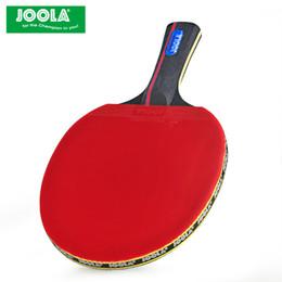 JOOLA 6 yıldız GUO3CS masa tenisi raketi KARBON FIBER saldırgan 7 saf ahşap Bladepong raketleri Raquete DePong nereden masa tenisi kauçukları sivilceye tedarikçiler
