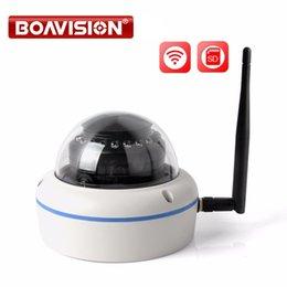 Wholesale Vandalproof Dome - HD 720P 960P 1080P Wireless WIFI Camera Outdoor Night IR 10M Dome Vandalproof Security Cameras Wi-fi Onvif TF Card APP CamHi