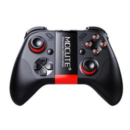 controlador de barramento usb Desconto Mocute 054 bluetooth gamepads joystick android pc sem fio 050 controle remoto usb game pad para smartphone para tv vr caixa