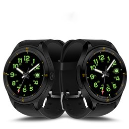 Bluetooth gps system online-Intelligente Uhr Bluetooth Luxusuhr für Andorid 3G WCDMA 600mAh Batterie IP67 Wasserdicht Für Andorid System GPS Anruf eingehende Metall-Armband
