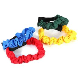 Wholesale game tie - 4Pcs Set Ropes Tied To The Foot Two People Three-legged Running Race Sports Game Children Outdoor Toys Kid Cooperation Training