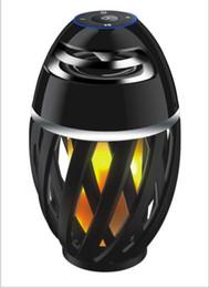 Led Flame Lights avec Bluetooth Haut-Parleur Extérieur Portable ? partir de fabricateur