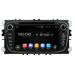 Wholesale touch screen car radio ford - Free shipping Octa-core 7inch Andriod 6.0 Car DVD player for Ford Mondeo with GPS,Steering Wheel Control,Bluetooth,Radio