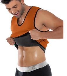 Wholesale Mens Slimming Vest Body Shaper - wholesale mens body shapers vest Hot Shapers Men's Compression Slimming Shirt Redu Shaper Vest Waist Trainer T Shirt Hot Body Shaper A502