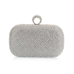 Wholesale Grace Party - New Arrival Day Clutches Women'S Clutches Bridal Purse Fashion Grace Wedding Party Dinner Glittered Clutch Bags Wallet Handbags