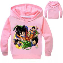 2019 детские футболки с изображением свитера Мультфильм свитер Dragon Ball мультфильм свитер детский свитер с капюшоном мультфильм длинные рукава футболка толстовки Детские детская одежда скидка детские футболки с изображением свитера