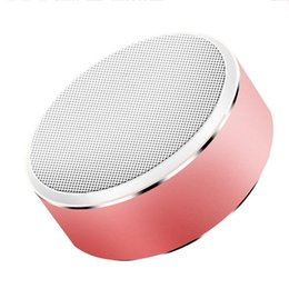 Wholesale free button sounds - Bluetooth Speaker top quality Portable Mini Wireless Subwoofer for Stereo Radio TF Card Hands-free Calling Speakers