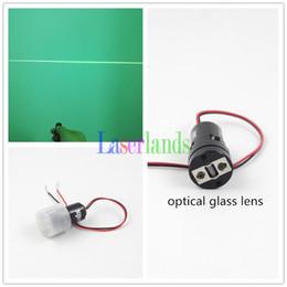 Wholesale laser green module - 10mW 532nm Green Line Diode Laser Module for Laser Level w  Glass Lens 3VDC APC