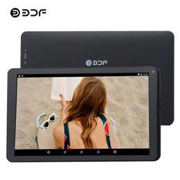 2019 carregador de tablet de polegada android BDF 10 Polegada WiFi Android 5.1 Tablet Pc Quad Core 1 GB + 8 GB Dc 2.5 Adaptador de Carregador Slot Tablets Pc Telefone Móvel 3G Tablet Android carregador de tablet de polegada android barato