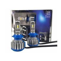 Wholesale Canbus Error Free - YSY 1set Car light H8 H11 9005 H4 H7 Canbus LED Headlights 35W 7000LM 12V Car White beam Light Source 6000k Error Free Canceller