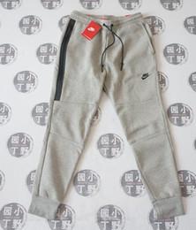 Wholesale Jersey Letters - NK TECH FLEECE CAMO pants, men's Space Cotton foot trousers, air layer cotton camouflage sports pants