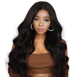 Deutschland Burmesische reine Haarkörperwelle Silk Basis Lace Front Perücken Pre gezupft lange volle Spitze Perücke natürlichen Haarstrich FDshine cheap virgin burmese full lace wig Versorgung
