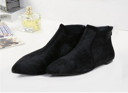 Wholesale Trendy Leather Boots - Boots Women Leather Trendy Footwear For Ladies Designer Boots 2.5-9 Handmade Shoes Character Shoes For Women 2.5