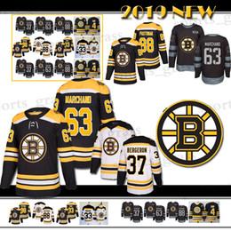 88 David Pastrnak 4 Bobby Orr Boston Bruins Hockey Jersey 33 Zdeno Chara 37  Patrice Bergeron 63 Brad Marchand Jersey 2018 bc6c80c86