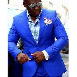 мужчины пальто обеда Скидка Два куска вечерние мужские костюмы остроконечные лацкане отделка подходит на заказ куртка пальто брюки дизайн для свадьбы ужин смокинги