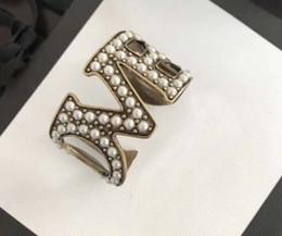 Rosas de bronze on-line-Livre shiping Super wide pérola pulseiras Do Punk rose gold cuff kell pulseiras para As Mulheres de bronze Jóias de Alta Qualidade