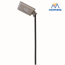 Wholesale 12v Lighting China - Wholesale- 205 12V 5W Led Energy Saving Outdoor lighting integrate solar streetlight in China