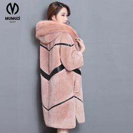2017 neue dicke winter kapuzenjacke warme nachahmung pelzmantel hochwertige  nachahmung fox mantel große größe frauen Mantel große kapuzenjacken Outlet 6930f744f1
