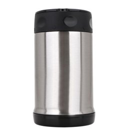 Wholesale Stainless Food Box - 500ml Food Thermal Jar Vacuum Insulated Soup Thermos 17oz tumbler Double Wall Stainless Steel Lunch Box Thermal Cooker