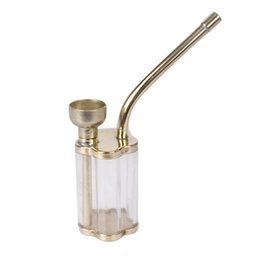 Wholesale Brass Water Pipes - Portable magnetized filter oil, brass, metal pipe, environmental protection water bottle, suction card.
