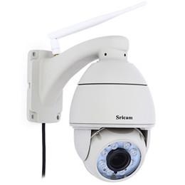 hochwertige ip-kamera Rabatt Hohe Qualität Sricam SP008 Wireless 5x Optischer Zoom 2,8-12mm Objektiv HD Autofokus PTZ IP Kamera Wifi Überwachungskamera