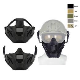 Airsoft Shooting Tactical Airsoft Masque SO03-117 de l'équipement de sport en plein air ? partir de fabricateur