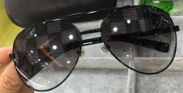 topblock Rabatt Neue Männer Designer Sonnenbrillen Haltung Sonnenbrillen blockiert im Freien UV400 Objektiv Metall Pilotrahmen Top-Qualität orange Fall klassischen Design