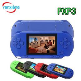 Jeux vidéo de télévision en gros en Ligne-10PCS TV Console de jeu vidéo portable PXP3 16 bits Joueurs de jeu Gameboy PXP Mini Consoles de jeu pour GBA Jeux En gros DHL YX-PXP-1