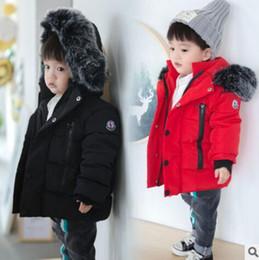 Casacos de inverno roupas de princesa meninas on-line-Roupas infantis Inverno Crianças Algodão Amassado Jaqueta Bebê De Pelúcia Quente Espessamento Outerwear Princesa Meninas Casaco Meninos Roupas