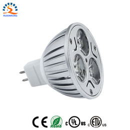 Canada CREE a conduit Spotight 3 * 3W 9W LED GU10 Spot Ampoule LED Ampoule Lampe 6000-6500K Blanc Froid 220-240V Projecteur Économie D'énergie + CE ROHS Offre