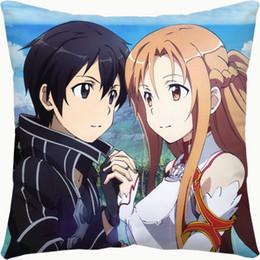 Anime Sword Art Online Dakimakura Asuna Yuuki Body Pillowcase Pillow Case Cover