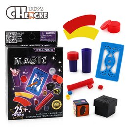 Wholesale Puzzle Card Games - Magic toy Fashion Hot Magic Pen Penetration Card Toys Puzzle game table games For Kids magic tricks products toys