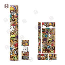 Canada 12 Styles Wraps Pour Juul Kits Personnalisé Peau De Cigarette Électronique Avec Logo Pour Peau Juul USB cheap cigarette skins Offre