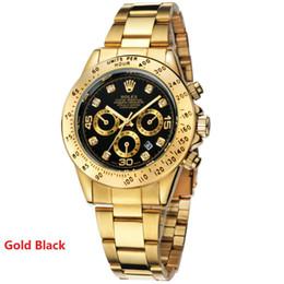Wholesale Women Watch Bracelet Fashion - 20183 Famous Luxury Brand Watches Rolex Mens Top Watch Automatic Date Steel Band Gold Men Women Watch 3#