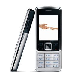 analog tv mobile Rabatt 6300 entsperrte Stab-Handy 2.0 Zoll Tri-Band 2.0MP Kamera Bluetooth FM Mp3 Erneuern Sie Handy-Mehrsprachigkeit