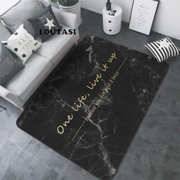 Мраморные полы онлайн-LOUTASI Nordic письма мраморный узор ковер гостиная ковер диван стол коврик спальня прямоугольные прикроватные тумбочки коврик для йоги коврик
