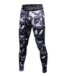 Canada 2017 Hommes Compression Pantalon Sport Courir Collants Basketball Gym Pantalon Bodybuilding Joggeurs Jogging Skinny Leggings Pantalon 21 supplier basketball compression pants Offre