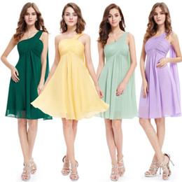 Vestidos siempre lindos online-OK.8.9 Cóctel corto de dama de honor Vestidos formales de baile de graduación Homecoming Ever Pretty 03537