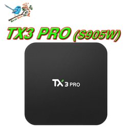 2019 mx tv box quad core Amlogic S905W TX3 Pro TV Box Android 7.1 Quad Core Wifi H.265 4 K Smart Media Box HD Streaming Player Meilleur S905W MXQ Pro X96 Mini