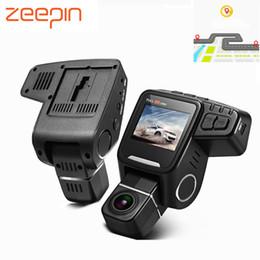 скрытые камеры записи Скидка ZEEPIN скрытая автомобильный видеорегистратор камеры Новатэк Даш Cam FHD 1080 пунктов вращение объектива камеры с GPS циклическая запись вождение автомобиля видеомагнитофон 7 дней доставки