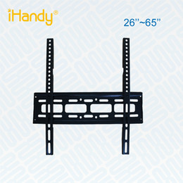 Wholesale Wall Mount For Lcd - wholesale iHandy T52-A NEW UNIVERSAL LCD LED SCREEN TV STAND TV Wall Mount Bracket FOR 26''-65''