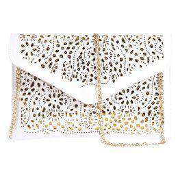 Deutschland Umschlag Folie Floral Handtasche Frauen Tasche Lady Womens Leder Handtasche Schulter Abendtasche Berühmte Designer Umschlag Clutch Bolsa Versorgung