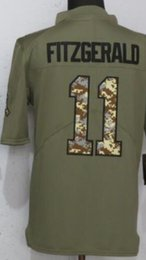 Men Arizona 11 jerseys Embroidery and 100% stitched 2018 Camo USA Flag  Olive Salute To Service Limited American Football Jersey df0d26598