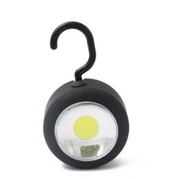 Лампа-магнит онлайн-Портативный фонари открытый водонепроницаемый Портативный светодиодный свет кемпинг лампа с Магнитом и крючком Круг висит палатка фонарь использовать AAA